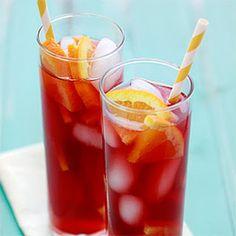 Tangerine Raspberry Iced Tea.