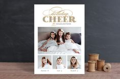 Gilded Cheer by b.wise papers at minted.com