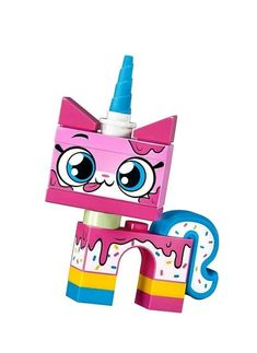 LEGO Dessert Unikitty CMF Minifigure 41775 Series 1 Polybag for sale online Boutique Lego, Justice League Marvel, Rainbow Parties, Star Wars Minifigures, Lego Minifigure, Lego News, Lego Harry Potter, Lego Super Heroes, Lego Instructions