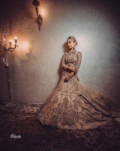 Golden Lehenga, Wear Store, Bridal Outfits, Bridal Lehenga, Wedding Attire, Wedding Vendors, Ball Gowns, Formal Dresses, How To Wear