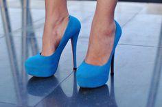christians, fashion, blue suede shoes, blue shoes, christian louboutin, blues, blue louboutin, blue heel, fancy high heels