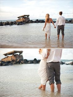 beachside wedding i want a picture like this!