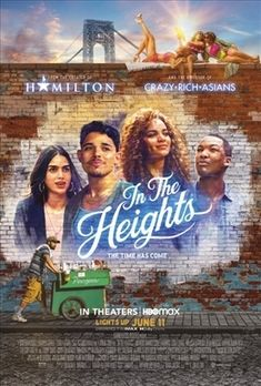In the Heights is a high-energy, American musical, dance film based on the stage musical by Quiara Alegría Hudes and Lin-Manuel Miranda, who also appears in the film. The musical and dance performances are stunning. It is a delightful family movie. It follows the stories of the dreams of members of a community on a corner in Washington Heights, New York City. This captivating, heart-grabbing movie has wonderful themes of love for others, community, and family. Washington Heights, In The Heights Movie, Leslie Grace, Tony Winners, Anthony Ramos, Lin Manuel Miranda, Mary Poppins, Justin Bieber, Latina