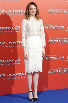 We rounded up Emma Stone's best looks from the Amazing Spider-Man 2 press tour. Hint: they are all incredibly chic. Click through for more.