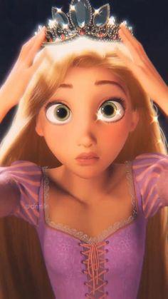 All Disney Princesses, Disney Princess Rapunzel, Disney Princess Quotes, Disney Princess Drawings, Disney Princess Pictures, Disney Tangled, Disney Drawings, Disney Frozen, Gif Disney