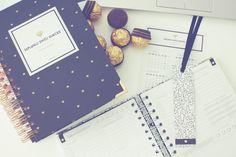 Planner dzienny | Zaplanuj Swój Sukces | Gold Diamond Bold