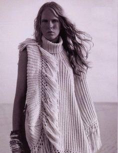 69abdf595070 THE DARKER HORSE  Summer Fringe! Knitwear Fashion