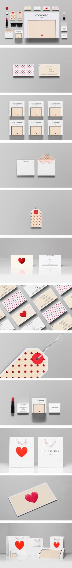 So cute and simple. <3 Cocolobo - Branding / http://www.anagrama.com