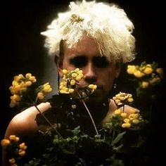 Martin (flowers) Gore #depechemode #martingore #genius #bestcomposer #viewsical #devotee