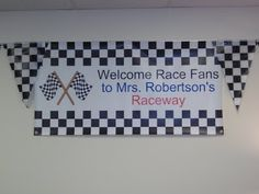 Clutter-Free Classroom: Racing Themed Classrooms