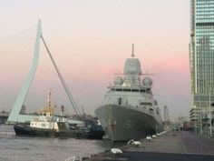 Zr Ms Tromp in Rotterdam