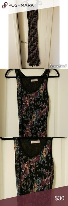 Beautiful floral maxi dress Lovely floor length never worn chiffon floral maxi dress. Perfect for spring and summer. Brand is Band of Gypsies. Urban Outfitters Dresses Maxi