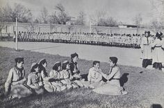 Afghanistan once had Boy Scouts and Girl Scouts. In the 1950s and '60s, such programs were very similar to their counterparts in the United States, with students in elementary and middle schools learning about nature trails, camping, and public safety. But scouting troops disappeared entirely after the Soviet invasions in the late 1970s.