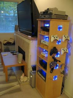Game console storage