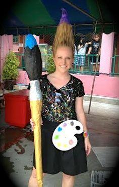 Cassie Stephens: The Best Dressed Art Teacher Contest!