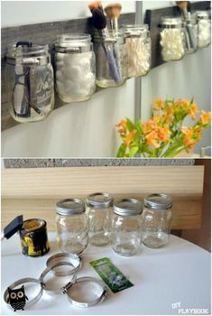 45 Creative Makeup Storage Ideas And Hacks For Girls in 2019 diy 45 makeup hacks - Makeup Hacks Diy Makeup Organizer, Make Up Organizer, Make Up Storage, Makeup Organization, Bedroom Organization, Storage Organization, Makeup Storage Containers, Makeup Storage Hacks, Makeup Storage Drawers