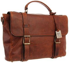 Don't Buy FRYE Men's Logan Antique Pull Up Flap Briefcase or any Leather Laptop Messenger Bag if you haven't ever readthis post! Best Leather Briefcase, Leather Laptop Bag, Briefcase For Men, Name Brand Handbags, Laptop Messenger Bags, Laptop Bags, Branded Wallets, Cheap Handbags, Stylish Men