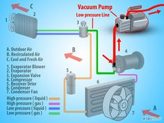How Much Does Car Ac Repair Cost >> Expansion Valve Type AC System Diagram | Car Building ...