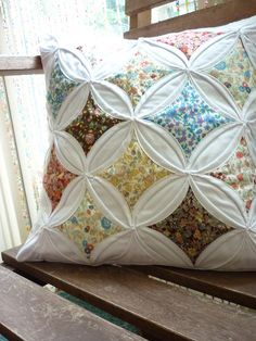 Cathedral - love this quilt pattern!