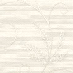 Specialty & Metallic LIMITED STOCK/Embroidered Manila Hemp 5902 in White Embroidery On Ivory Manila Hemp