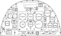 Differences Spitfire instrument panels