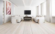 white oak flooring modern - Google Search