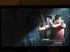 I keep on getting this screen whenever the first cinematic for chapter 2 ends what's up? (TLL) #Uncharted #PS4 #Uncharted4 #TheLastOfUs #NathanDrake #PS4share #playstation #gaming #games