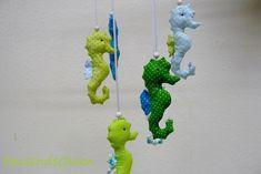 Babymobile Mobile Seepferdchen von tausendschoen1 auf DaWanda.com