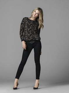 All you need this fall are knitted sweaters #salsajeans #fw #collection