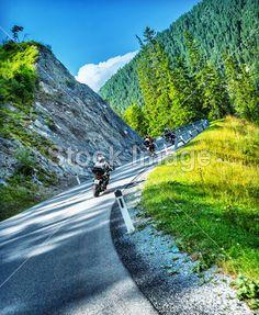 Motorkáři turné po Alpy
