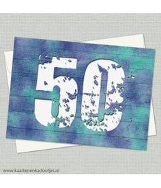 50 uitnodiging of verjaardag