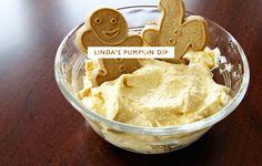 pumpkin dip.