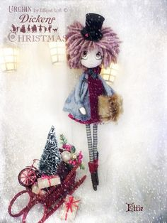 Ettie Urchin Art Doll by Vicki at Lilliput Loft