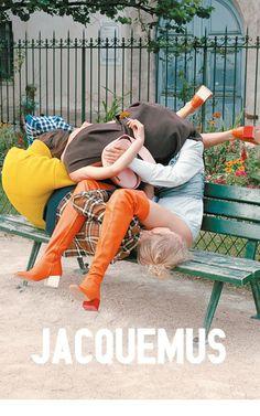 JAQUEMUS/ INSTALLATION WILLI DORNER / PHOTOGRAPHY DAVID LURASCHI #jaquemusinmyheart