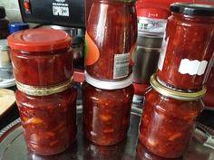 Narancsos meggy és cseresznye, elmondani nem tudom milyen finom lett! Salsa, Food And Drink, Jar, Recipes, Recipies, Salsa Music, Ripped Recipes, Cooking Recipes, Jars