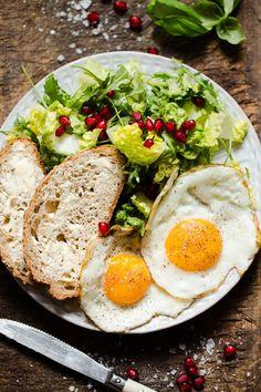 5 lunsjforslag til neste uke - Ida Gran Jansen Granola, Avocado Toast, Cobb Salad, Breakfast, Food, Morning Coffee, Essen, Meals, Yemek
