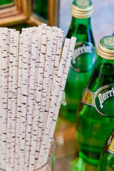 Birch straws with your canada dry (not pictured)?