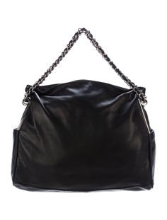 14c47e8cb497 Black leather Chanel Large Ultimate Soft tote with silver-tone hardware