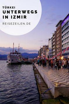 Was in Izmir zählt, ist der Trubel, das Treiben im Basar und das abendliche Schlendern an der Uferpromenade. Antalya, Best Places To Travel, Places To Visit, Travel Around The World, Around The Worlds, Istanbul, Visit Turkey, Travel Organization, Roadtrip
