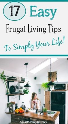 Best Frugal Living Tips - Smart Money Journey - Want to know how to spend less money? Check out these 17 best frugal living tips that you can start - Saving Money Weekly, Money Saving Meals, Money Savers, Frugal Living Tips, Frugal Tips, Frugal Meals, Freezer Meals, Money Plan, Money Tips