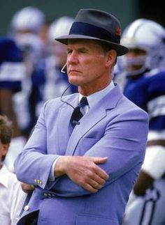 "Tom Landry ""Leadership is a matter of having people look at you and gain confidence, seeing how you react. If you're in control, they're in control."""