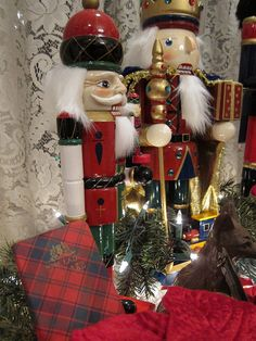 Nicely Detailed Nutcrackers