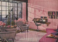 Interior Decoration 1950s1