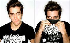 Jake Gyllenhaal - Donnie Darko; Zodiac; Source Code; Brokeback Mountain; The Day After Tomorrow; & Jarhead.