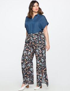 Find the right skirt or pair of pants to compliment your favorite top. Our wide selection offers everything from edgy denim to sleek pencil skirts. Fat Girl Fashion, Harem Pants, Pajama Pants, Wrap Pants, Hey Girl, Plus Size Fashion, Wide Leg, Leggings Are Not Pants, Legs