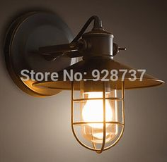 66.00$  Buy here - http://alik67.worldwells.pw/go.php?t=2021686778 - Wall lamp modern creative American European country taobao sale wall lights Nordic droplight contracted hc transparent