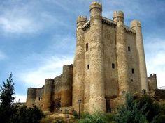 castillo de Coyanza, en Valencia de Don Juan (León)