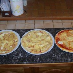 Mehr Thermomix® Rezept www. Pate A Pizza Fine, Cheeseburger Chowder, Macaroni And Cheese, Oatmeal, Food And Drink, Soup, Pudding, Breakfast, Ethnic Recipes