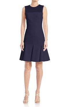 Akris Punto Cotton Techno Mesh Top Dress