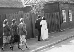 Коломна, свадьба, 1981.  Фотограф Игорь Пальмин